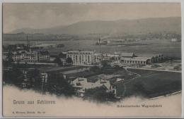 Gruss Aus Schlieren - Schweizerische Wagonsfabrik - ZH Zurich
