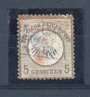 REICH46) 1872 - AQUILA Scudo Piccolo-Unif 6 USED - Germania