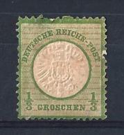 REICH45) 1872 - AQUILA Scudo Grande -Unif 14 MLH Senza Gomma - Neufs