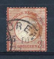 REICH50) 1872 - AQUILA Scudo Grande -Unif 18 USED - Germania