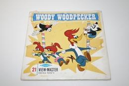 VIEW-MASTER Vintage Reels : Sawyers - Woody Woodpecker - Original 1960 - Reels - Viewmaster - Stereoviewer - Stereoscoopen