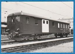 CP - Train - SBB - CFF - Voiture De Commande BDti 50 85 82 - 03 900-906. - Trains