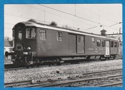 CP - Train - SBB - CFF - Voiture De Commande - BDt 50 85 82 - 33 900 De 1948 - Trains