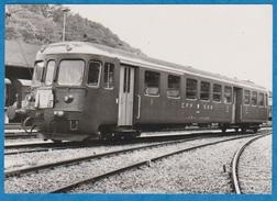 CP - Train - SBB - CFF - Genève - La Plaine - Voiture De Commande - ABt 1801-1802. - Trains