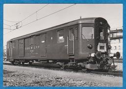CP - Train - SBB - CFF - Fourgon De Commande - DZi 50 85 91 - 33 900-901 De 1955. - Trains