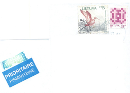 1999. Lithuania, The Letter Sent By Ordinary Post To Moldova