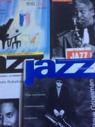 Lot De 5 Numéros De Jazz Magazine : 415/417 à 420 . 1992 - Musique