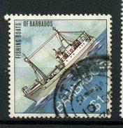 Barbados 1974  $1.00 Trawler Issue #395  Used - Barbados (1966-...)