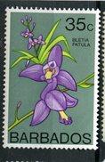 Barbados 1974  35 Cent Bletia Patula Issue #406  MH - Barbados (1966-...)