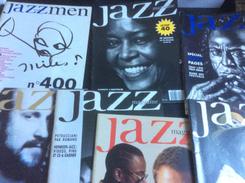 Lot De 7 Numéros De Jazz Magazine : N° 400 à 406. 1991 - Musique