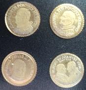 3092 4 Pauselijke Minimuntjes (zie Scans) - Jetons & Médailles