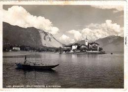49.4.1951; Lago Maggiore - Isola Pescatori E Superiiore, Ancien Photo-CPA , Lot 47517 - Italie