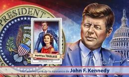 Togo. 2017 John F. Kennedy. (117b)