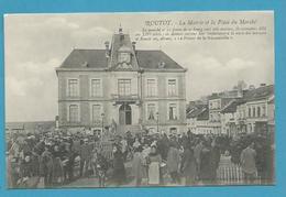 CPA Métier Maquignon - Marché Aux Bestiaux Sur La Place De Ma Mairie ROUTOT 27 - Routot