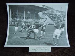 Photo De Football , Le Havre , Stade Municipale Graville ( Jules Deschaseaux ) , Tribune Coté Rue De Verdun - Le Havre