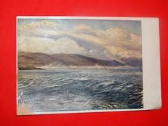 M. Cl. Crnčić, Bura (Storm), It Was In Circulation In 1921. /  Lapad, Gruž, Dalmacja, Croatia - Peintures & Tableaux
