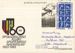Polen/Polska/Pologne – Kartka Pocztowa/Geïllustreerde Briefkaart - Gebruikt/used - Zie Scan - Ganzsachen