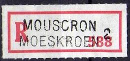 Vignette Recommandé Mouscron Moeskroen 2 - Documents De La Poste