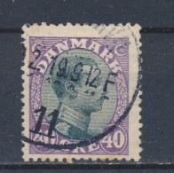 Denemarken/Denmark/Danemark/Dänemark 1918 Mi: 104 Yt: 111 (Gebr/used/obl/o)(1693) - Oblitérés