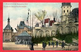 Bruxelles. Exposition De 1910. Entrée De Bruxelles-Kermesse - Expositions Universelles