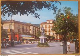 SORRENTO (Napoli) - PIAZZA TORQUATO TASSO - BAR FAUNO - STATUA S. ANTONIO ABATE - Napoli