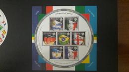 GIBRALTAR 2006 GERMANY World Cup Football Soccer FIFA (~FACE VALUE) MNH ** - Gibraltar