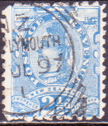 NEW ZEALAND 1896 SG 230 2½d Used Perf. 10x11 - 1855-1907 Crown Colony