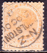 NEW ZEALAND 1897 SG 240 3d Used Perf. 11 - 1855-1907 Crown Colony