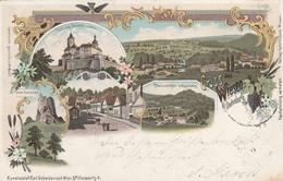 Gruss Aus Wiesen Bei Oedenburg-Oesterreich-Ungarn-Litho 1901 - Sin Clasificación