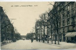 75- 14è - PARIS - Avenue Du Maine - Arrondissement: 14
