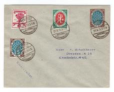 Ganzsachen-Privatumschlag Borek-Katalog Nr. 43 Mit Zusatzfrankatur MiNr. 107+108+109, SSt. Nationalversammlung WEIMAR - Brieven En Documenten