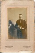 Photo Avec Cadre Officier 18 ème Régiment De Dragons LURE (70) - Guerre, Militaire