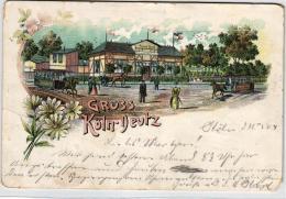 Gruss A. Köln Deutz....nette Alte Karte   (k4783 )  Siehe Bild - Allemagne