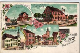 Gruss A.  Eich  ..nette Alte Karte   (k4883 )  Siehe Bild - Allemagne