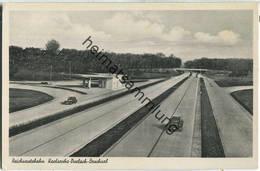 Karlsruhe - Durlach - Bruchsal - Reichsautobahn - Karlsruhe