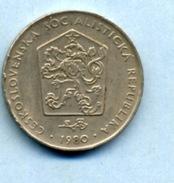 1980 2 COURONNES - Tchécoslovaquie