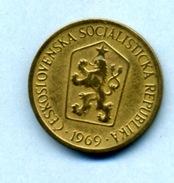 1969 1 COURONNE - Tchécoslovaquie