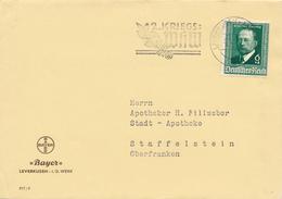 LEVERKUSEN - 1941 , Emil V. Behring - Bayer Leverkusen - Deutschland