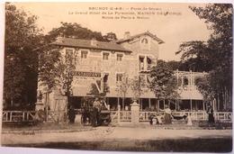LE GRAND HOTEL DE LA PYRAMIDE - MAISON DELFORGE - BRUNOY - Brunoy