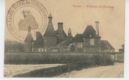 YZEURE - Château De Panloup (avec Cachet Militaire - 13ème Corps D'Armée, Hôpital Militaire Des Convalescents D'Yzeure) - Francia
