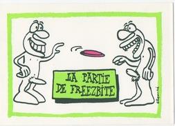 Illustrateur FILIPANDRE - 1986 - La Partie De Freezbite - Illustrateurs & Photographes