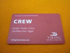 Viking Cruises Cruise Ship Cabin Boarding Key Card (crew) - Bateaux