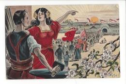 16417 - Solidarität  Solidarité Cortège Couple - Partis Politiques & élections