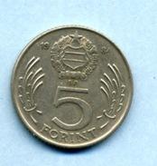 1984  5 FORINTS - Ungheria