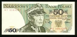 Polen 1988, 50 Zloty - UNC - Polonia