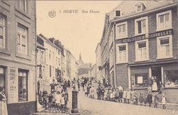 Herve - Rue Haute (top Animation, Photo Belge Lumière) - Herve
