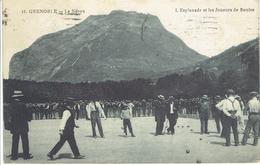 GRENOBLE LES JOUEURS DE BOULE 27 SEPT 1919 - Grenoble