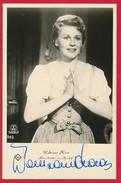 AK Schauspielerin 'Waltraut Haas' Mit Autogramm - Actors