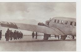 Junkers G 23 - Grossflugzeug - Besichtigung Durch Die Presse - Fotokarte   (170319) - 1919-1938: Entre Guerres
