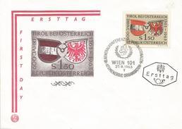 Austria Osterreich 1963 Vienna Wien International Atomic Energy Agency (IAEA) FDC Cover - 1961-70 Brieven